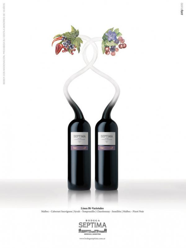 Vitrofusion, Malbec Cabernet - Graphic Design