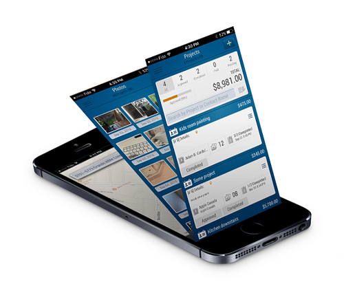 Project Reno - iOS Projects Management APP - Mobile App