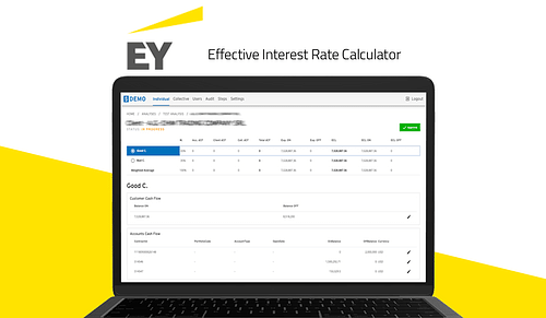 EIR for EY - Effective Interest Rate Calculator - Web Applicatie