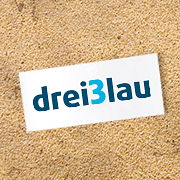 dreiBlau logo