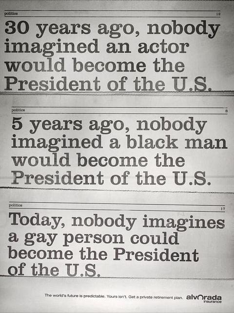 30 YEARS AGO, NOBODY IMAGINED