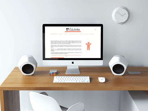 Edukrea.ch - Création de site internet