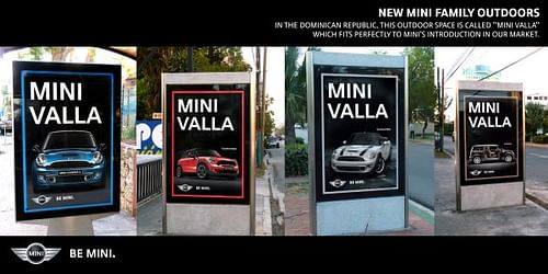 Mini Valla - Advertising