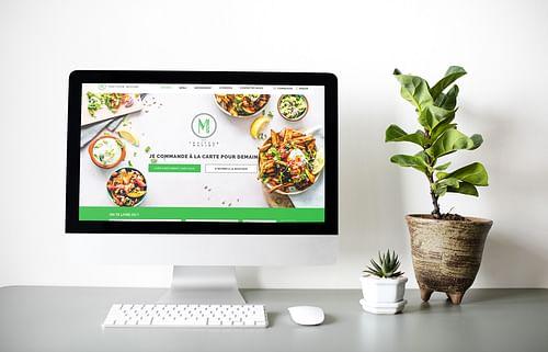 Création de site e-commerce pour Traiteur Maxime - Stratégie digitale