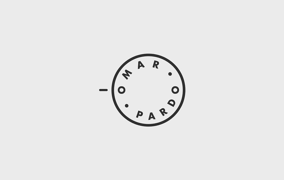 Identidad corporativa para el fotógrafo Omar Pardo