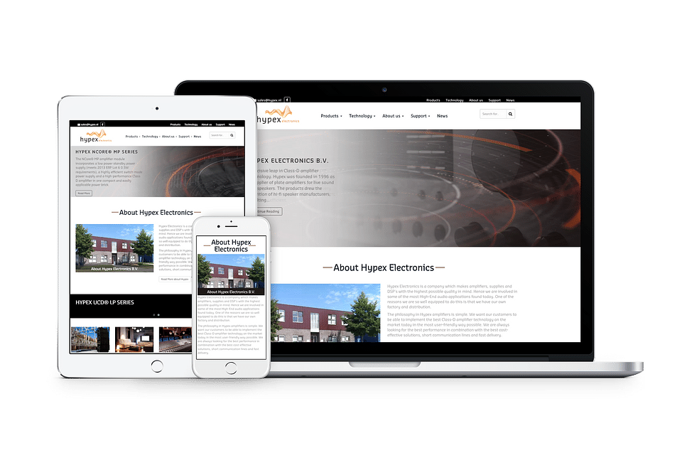 Webshop Hypex Electronics BV