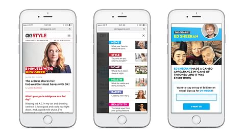 Mobile First Website Redesign