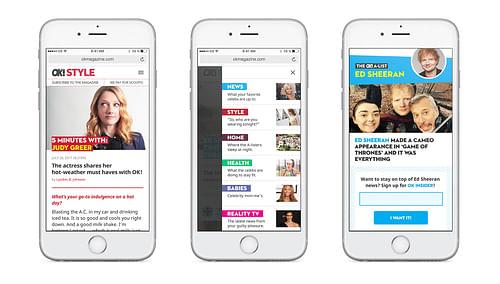 Mobile First Website Redesign - Website Creation