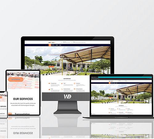 HARMONY ACADEMY - Website Creation
