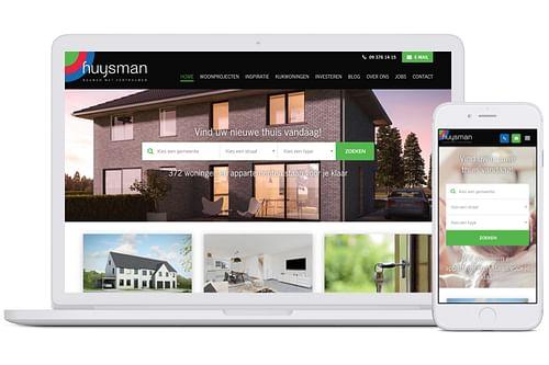 Website creatie: Huysman Bouw - Website Creatie