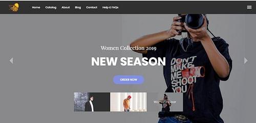 Tirur Apparel - Website Creation