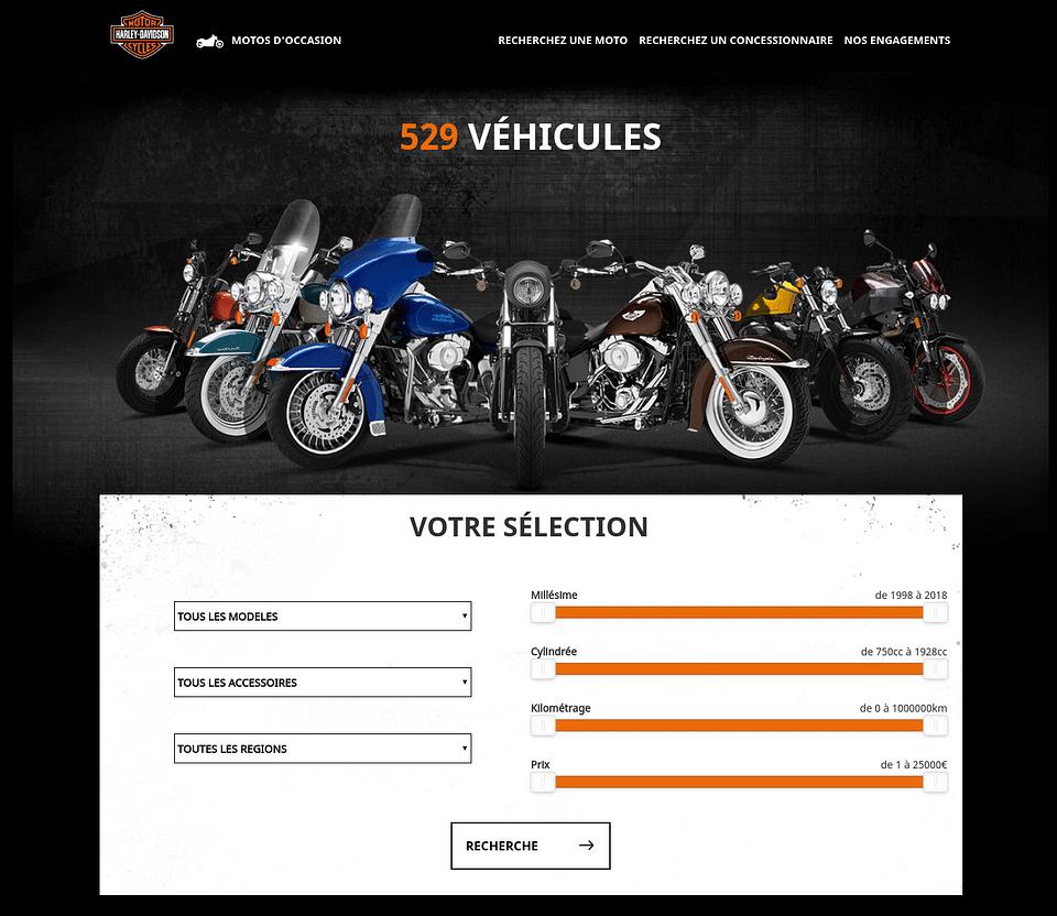 Harley-Davidson occasions