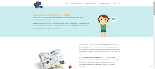SEO webteksten en PR voor een kinder naaimagazine - SEO