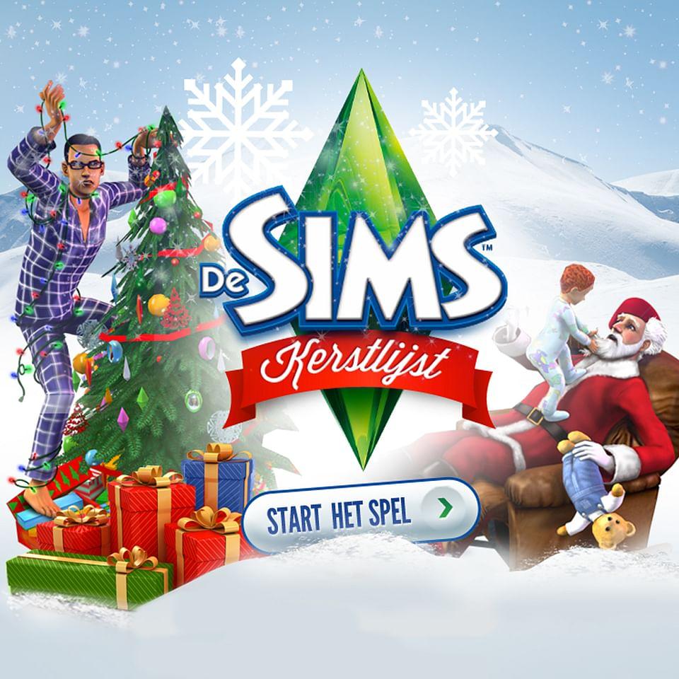 De Sims Kerstlijst