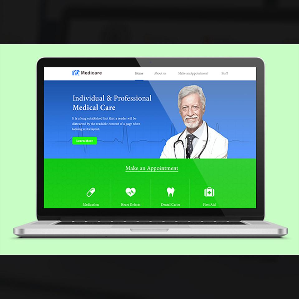 Website Development for a clinic