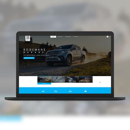 Bogemans Automotive - Website Creatie