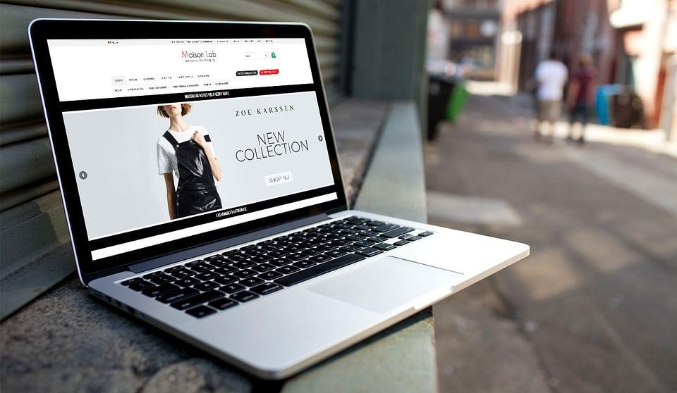 Magento webshop voor Maison-Lab