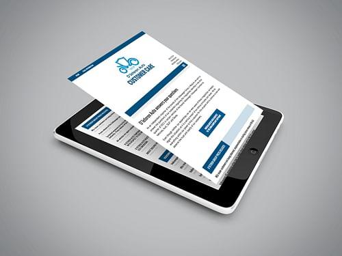 Spoedbestelling voor D'Ieteren - Web Applicatie