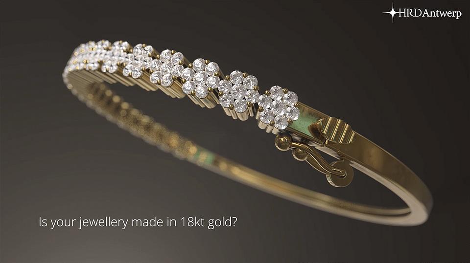 HRD antwerp Jewelry report