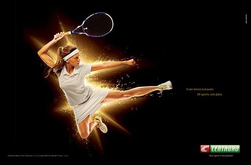 From Tennis to Karate - Advertising