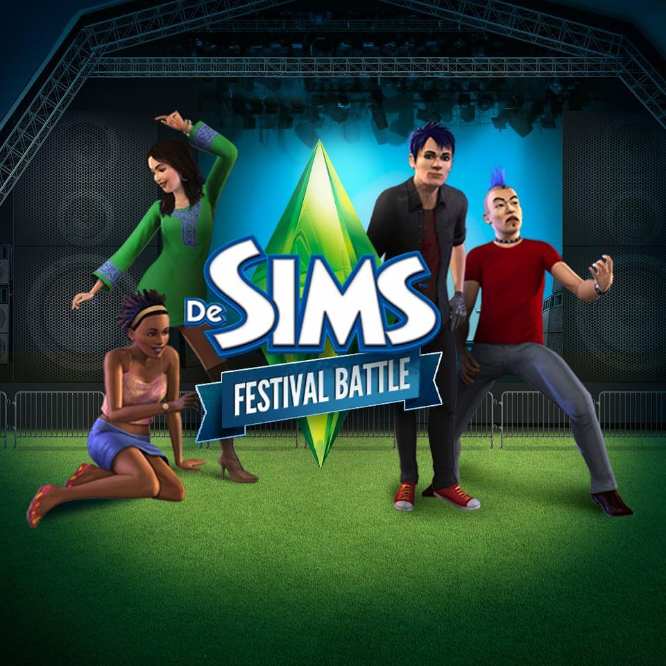 De Sims Festival Battle