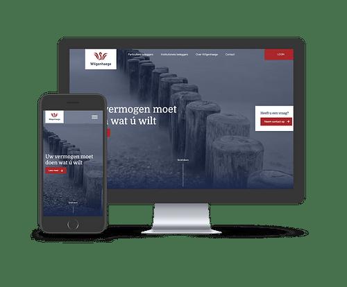 Wilgenhaege - Website Creatie