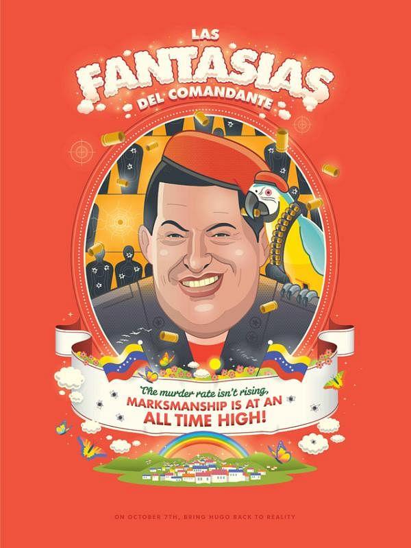 Las Fantasias?as del Comandante Poster Series