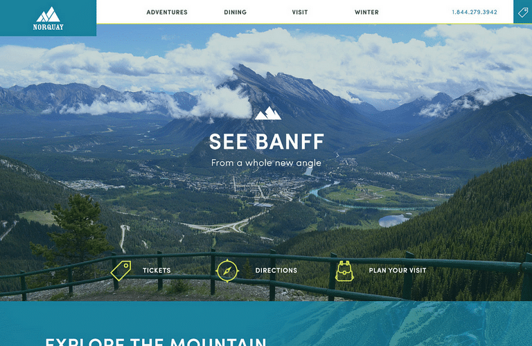 Website & SEO Campaign for Mount Norquay