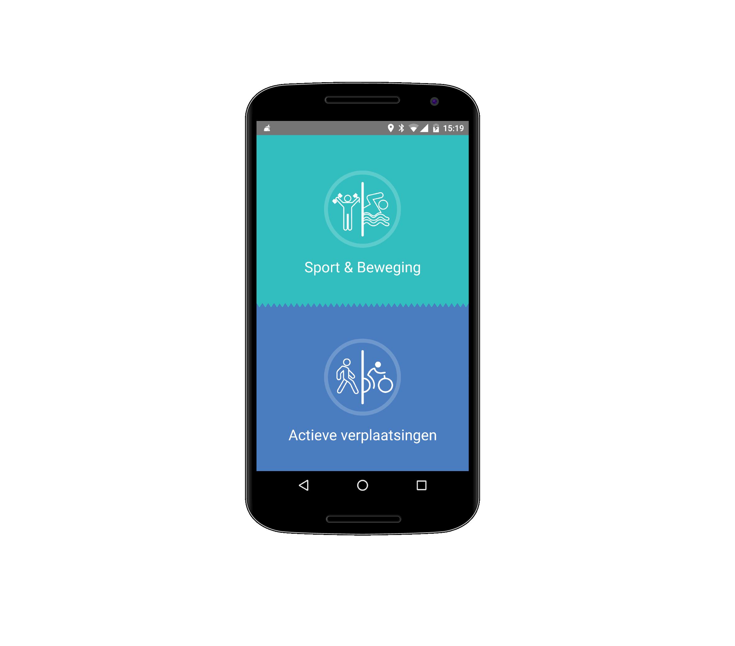 Universiteit Gent - Active Coach - Mobile App