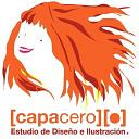 Capacero Estudio de Diseño e Ilustración logo
