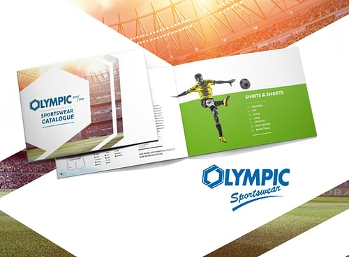 Olympic catalogue - Branding & Positionering