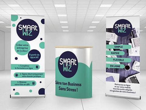 Réalisation et impression d'un kit salon SMARTWIZ