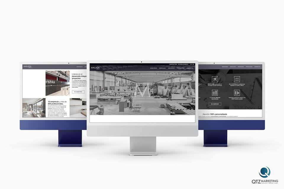 Diseño  Web y desarrollo Web   Grupo Malasa