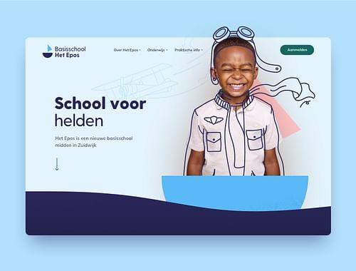 Ieder kind zijn eigen heldenverhaal - Website Creatie