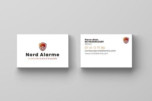 Carte de visite Nord Alarme - E-commerce