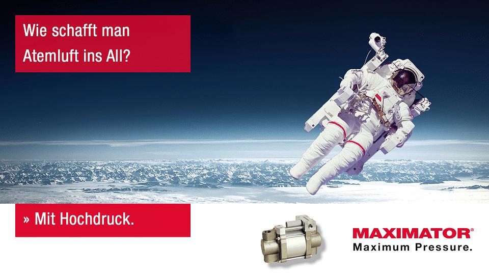 Maximale Marktpräsenz für MAXIMATOR