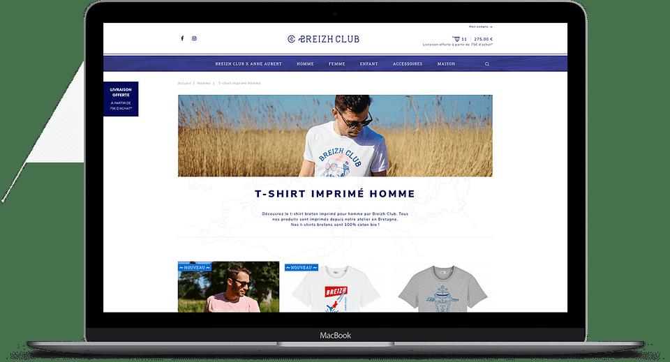 Multi-boutiques en ligne