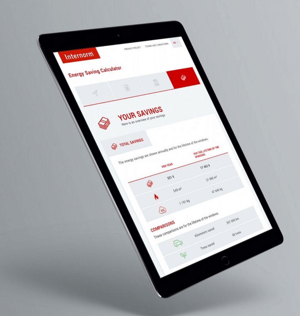 Online digital Energy Calculator