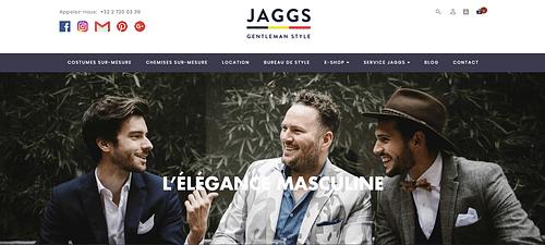 Jaggs.be [E-Shop] - E-commerce