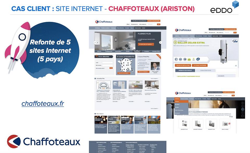 REFONTE DE 5 SITES WEB