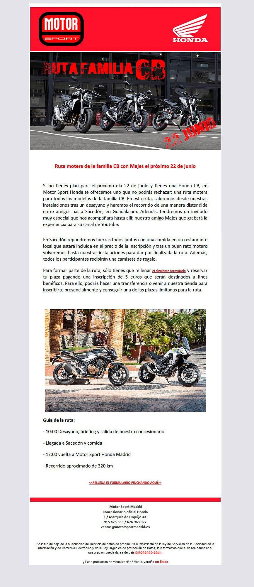 E-mail marketing para captación de participantes