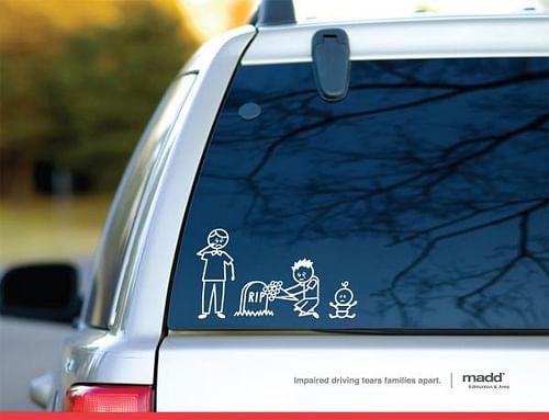 Stick Family Grave - Advertising