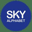Sky Alphabet Social Media logo