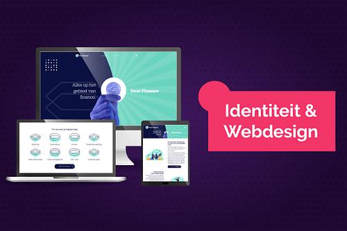 Branding en Webdesign voor DoetFinance - Website Creatie