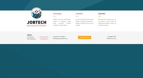 Jobtech - Site Internet - Création de site internet