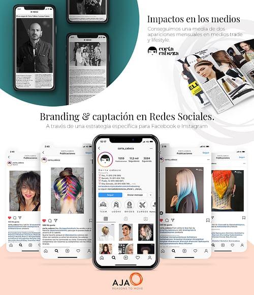Corta Cabeza: captación y apariciones en prensa - Branding y posicionamiento de marca