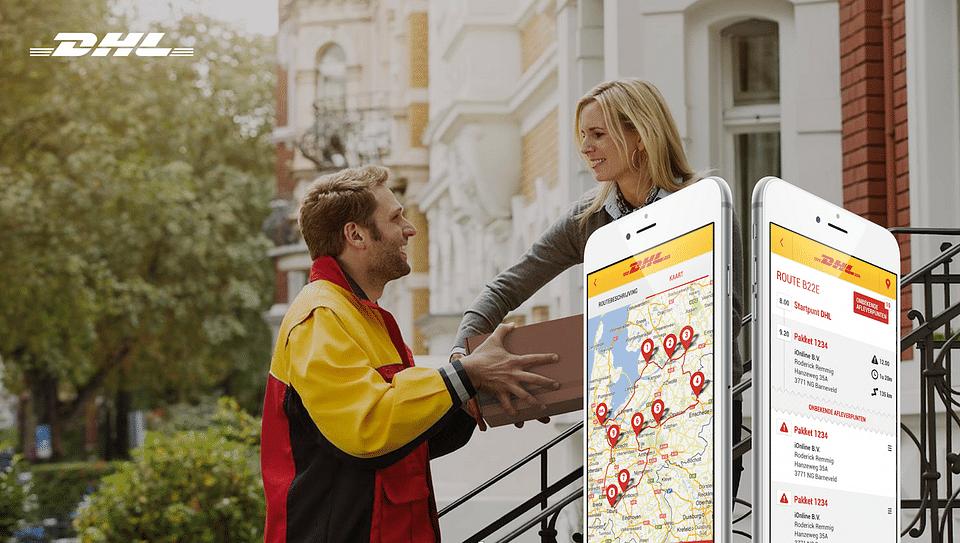 DHL Route Management app