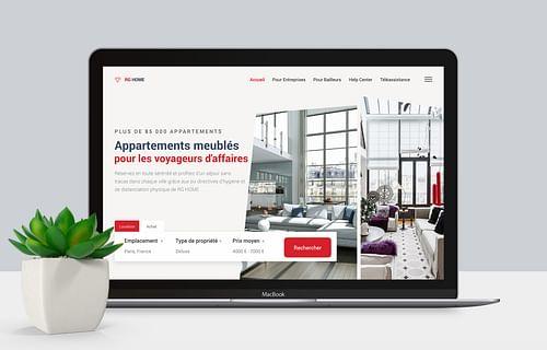 RD HOME | Site web - Création de site internet