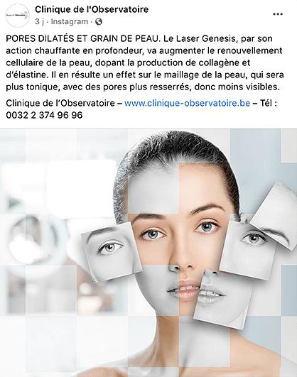 LA CLINIQUE DE L'OBSERVATOIRE - Social Media