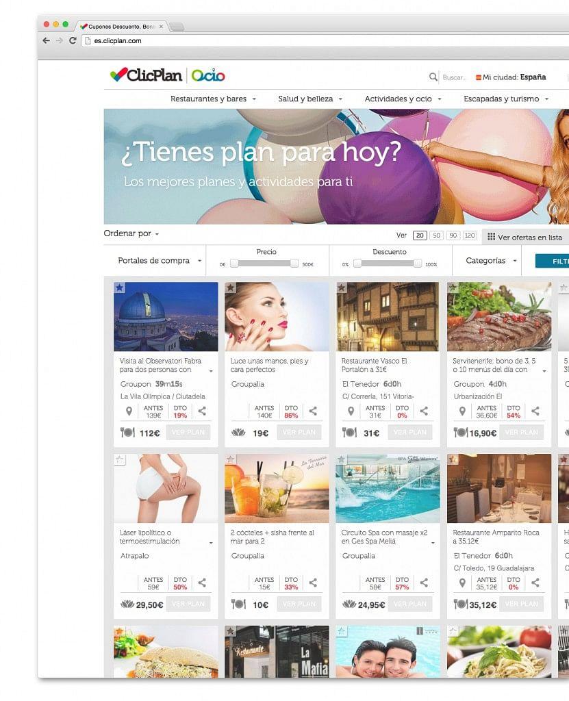 ClicPlan Rebranding de la marca & web